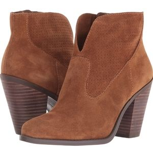 Jessic Simpson Suede Ankle Boot